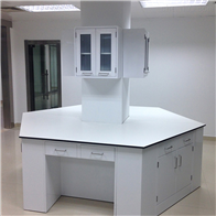 实验室六边桌实验台 中学实验桌