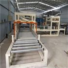 水泥基匀质板设备生产线产量