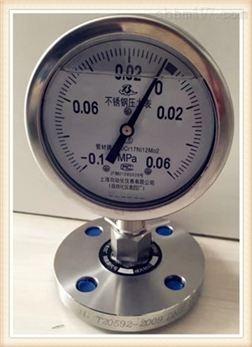 不锈钢耐震压力表Y-153FZ