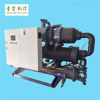 QX-480WS大型儀器降溫水冷式螺桿冷水機
