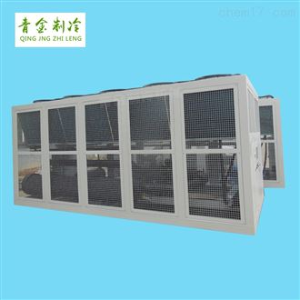 QX-420AS挤塑设备供冷大型风冷式螺杆冷水机