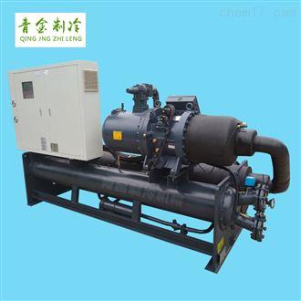 QX-180WS单机头螺杆式混凝土冷水机组
