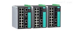 EDS-516A 系列中国台湾MOXA16进阶网管型冗余工业以太网交换机