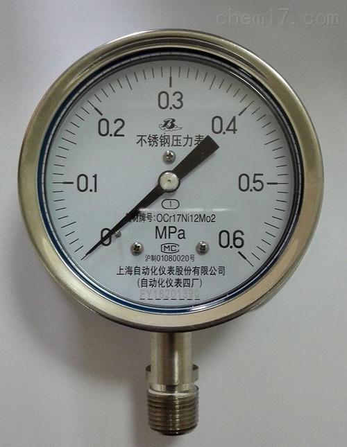 Y 150系列高压压力表