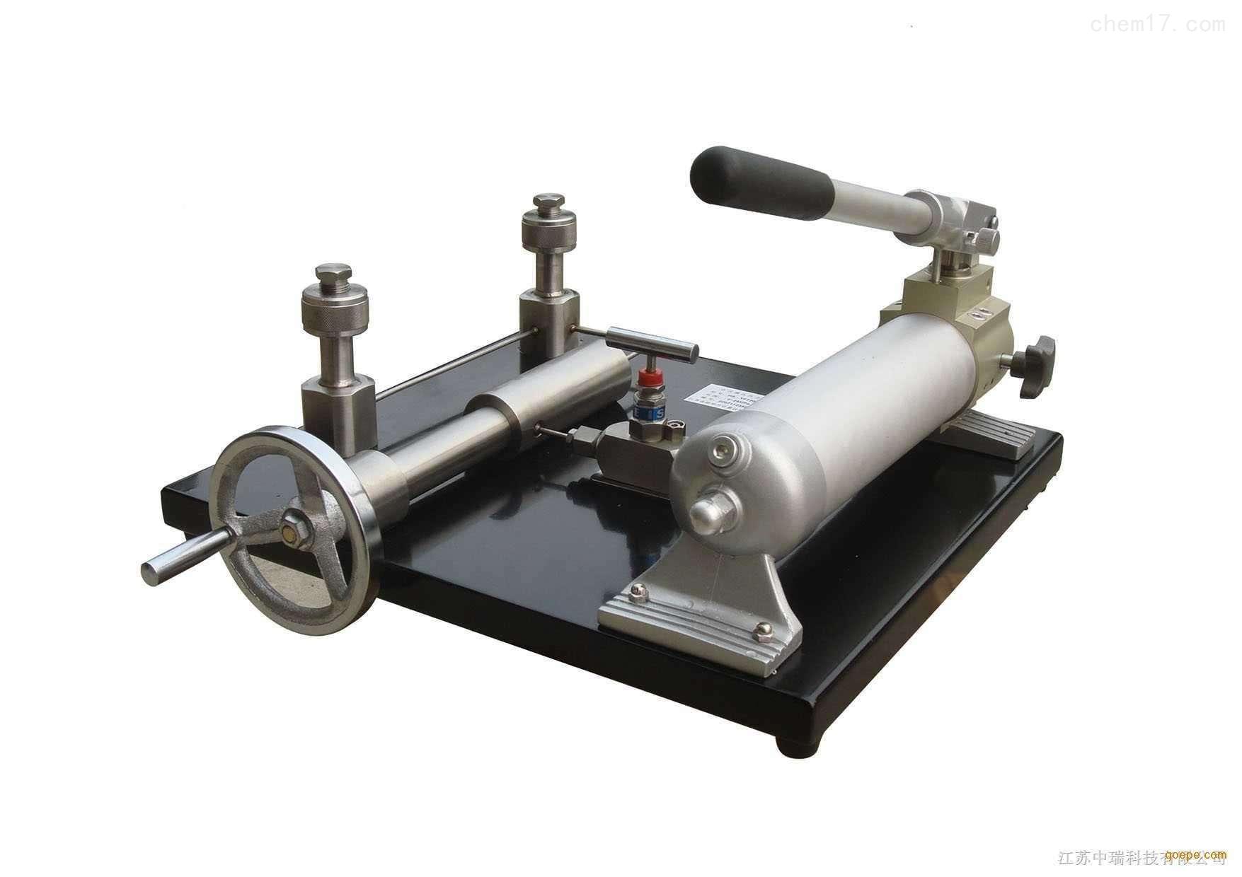 高精度电动压力效验台