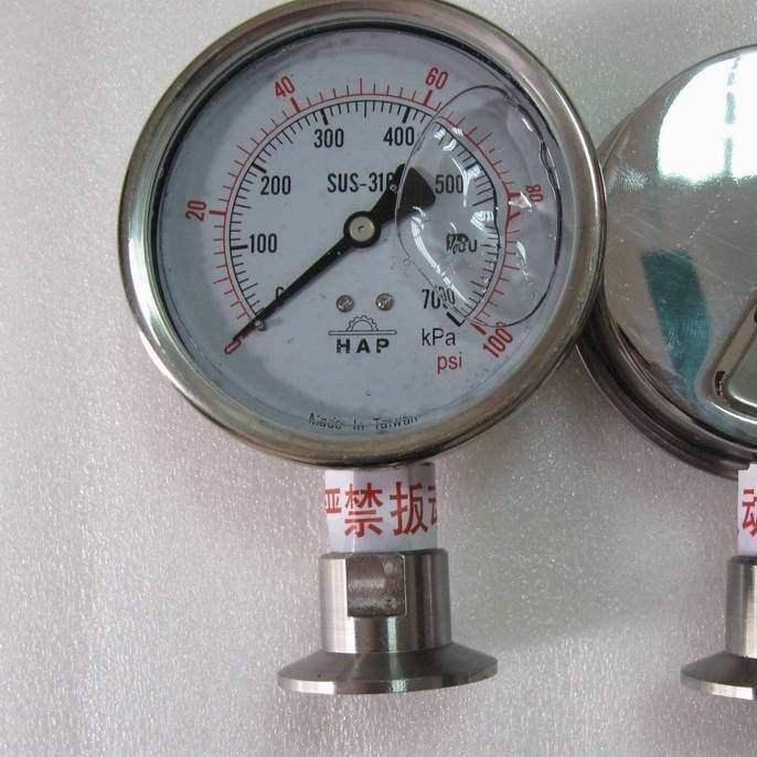 Y-150BFZ/Z/MF(316)不锈钢隔膜压力表