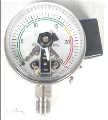 电接点压力表型号