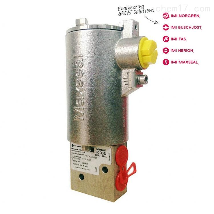IMI HERION三通不锈钢低功耗SIL认证电磁阀