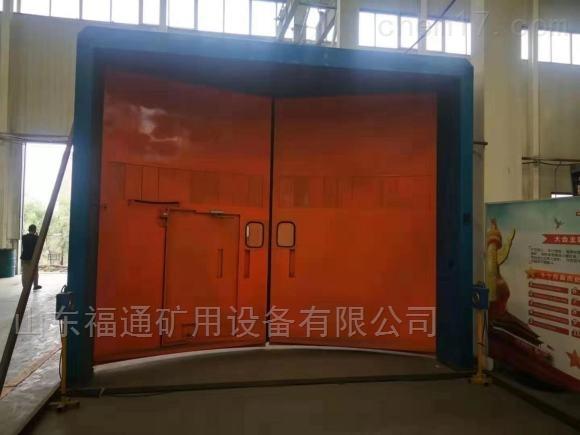 矿用连锁减压风门一套10条气缸