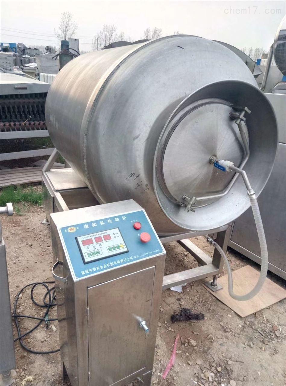 回收二手2000L真空滚揉机肉制品加工设备