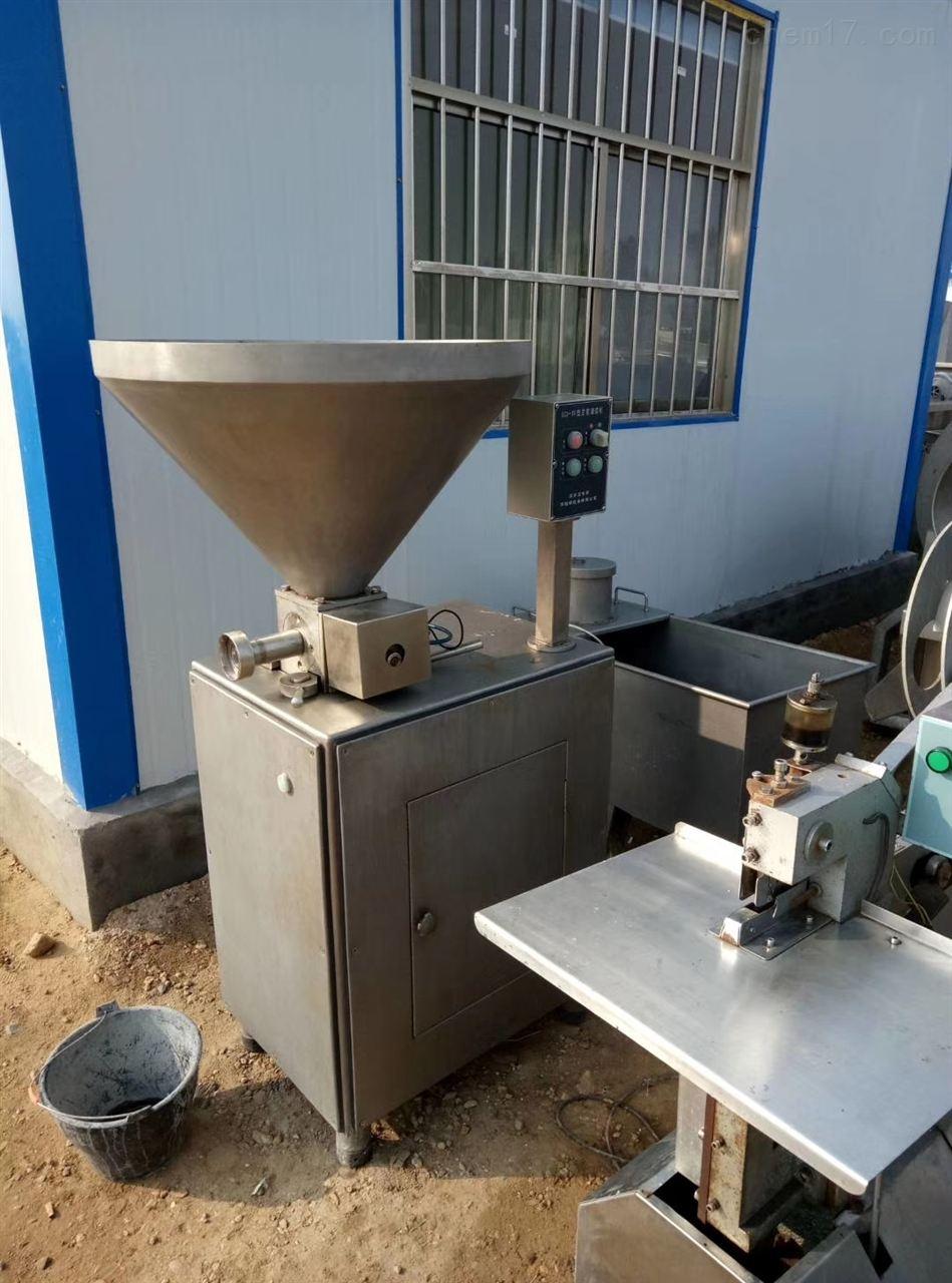 回收二手定量真空灌肠机肉制品加工设备