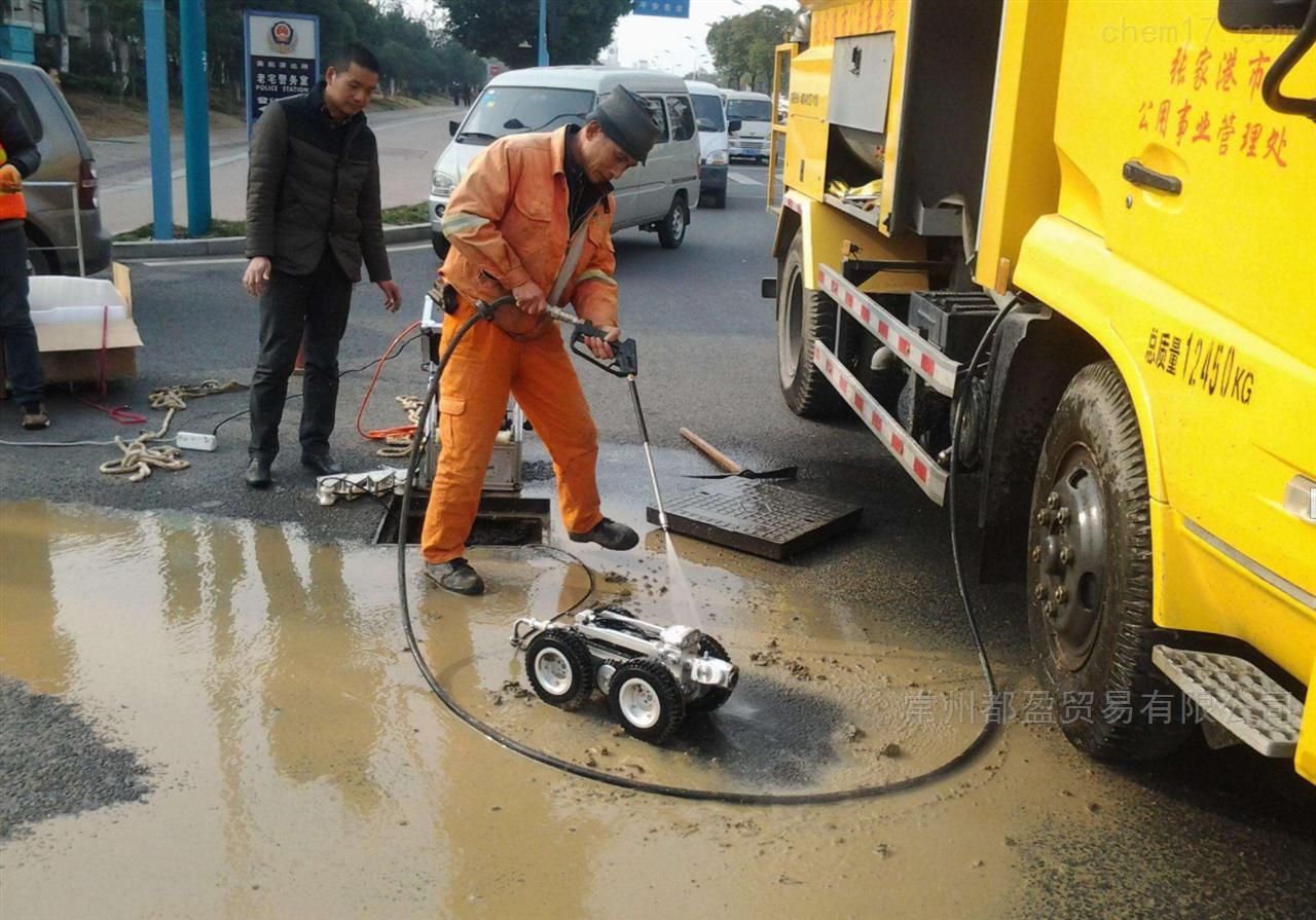 排水管道CCTV机器人检测