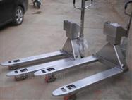 不锈钢移动计重地牛秤,手动液压叉车电子秤