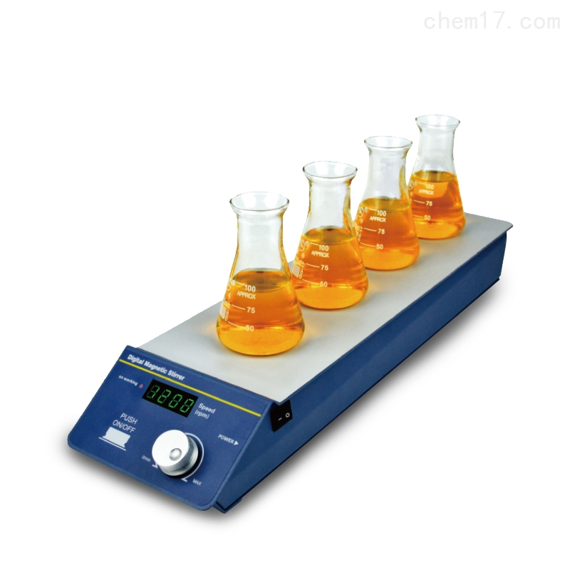 米欧 Miulab 多通道磁力搅拌器