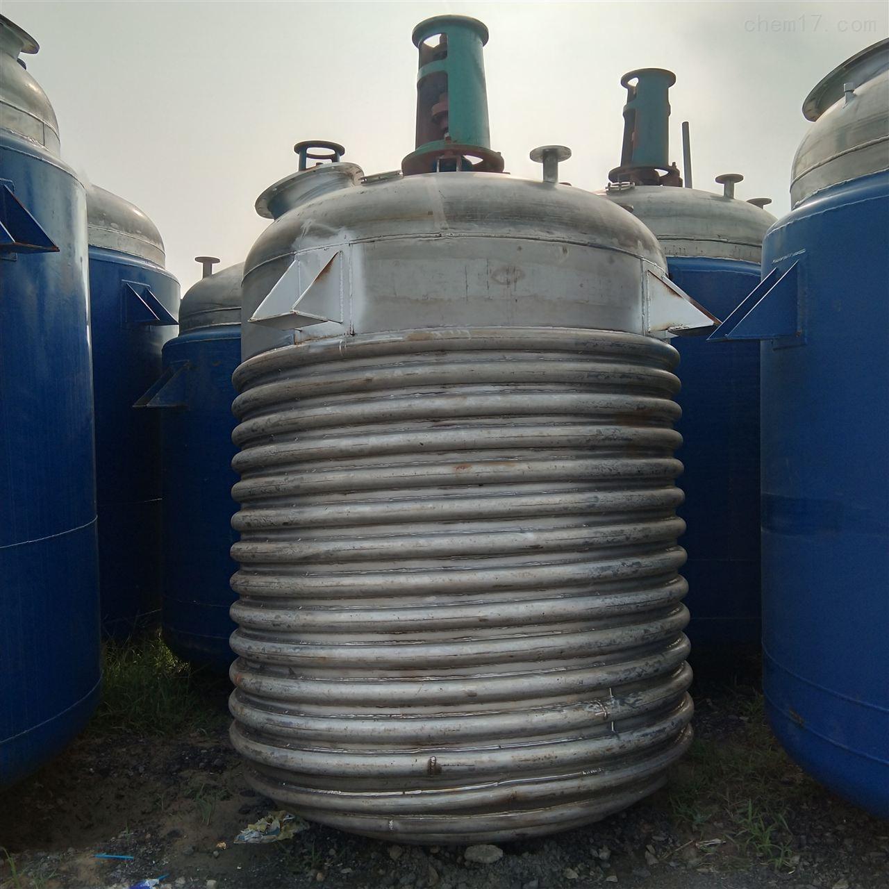大量回收8吨蒸汽反应釜