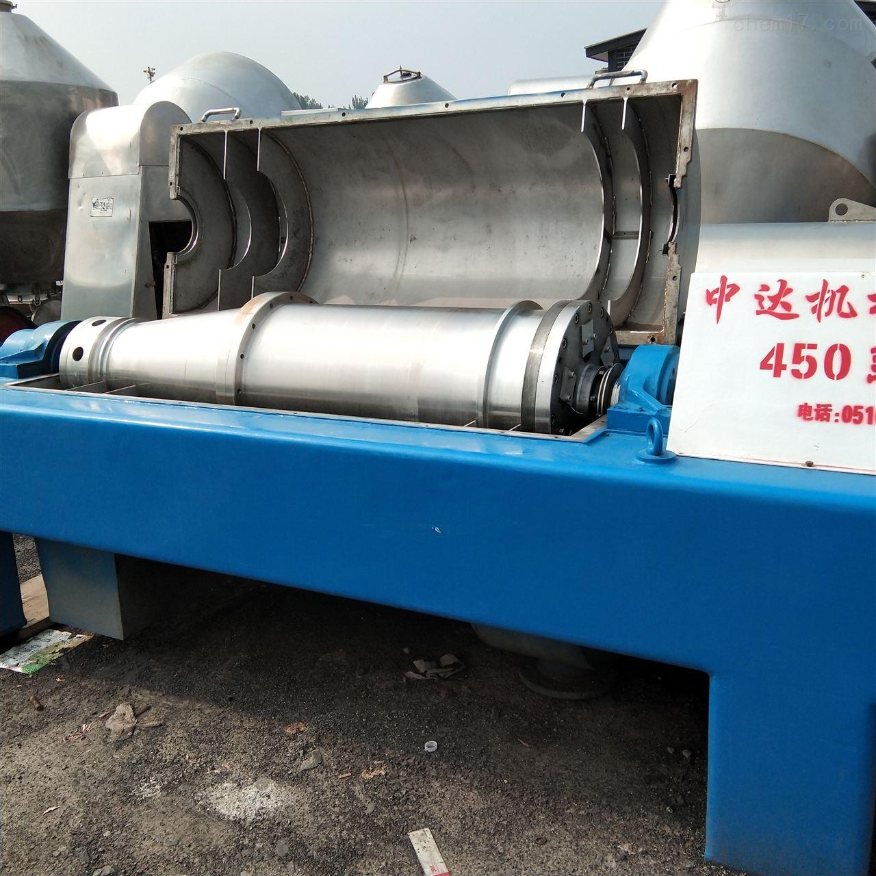 回收350型卧螺离心机