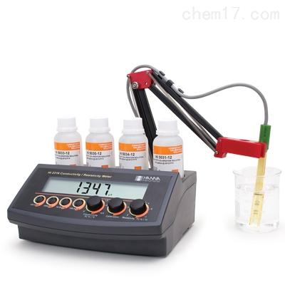 HI2316 微电脑电导率-EC-电阻率测定仪