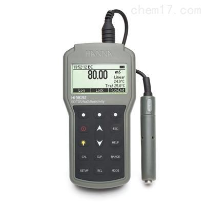 HI98192 专业级微电脑EC-TDS-电阻率测定仪