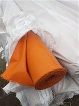 橘色0.04mm厚硅胶防火纤维布