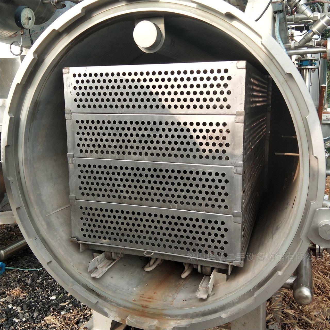 回收4立方高温杀菌锅
