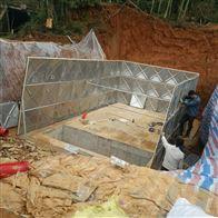 广东梅州地埋式箱泵一体化消防水箱施工方案