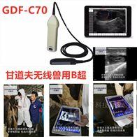 gdf-c70高清无线牛用B超报价动物B超彩超厂家价格