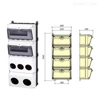 SIN1604-1四排组合插座箱