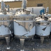 10000升储存罐大量回收二手不锈钢储存罐