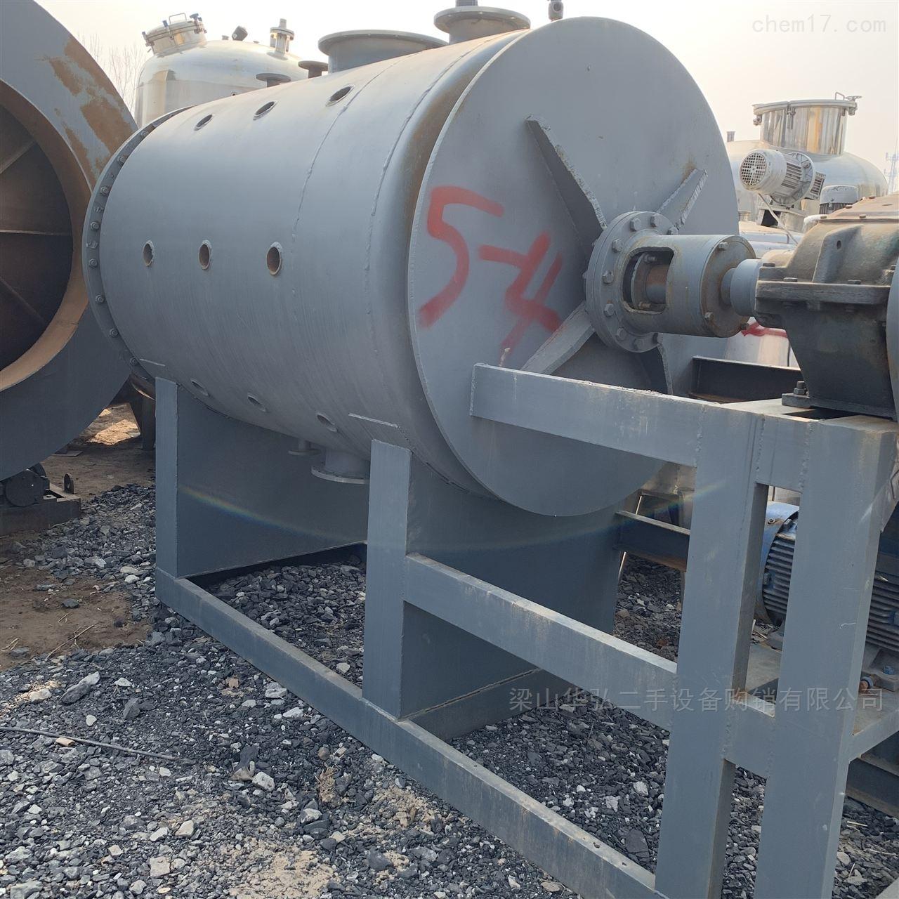 常年回收3吨不锈钢耙式干燥机