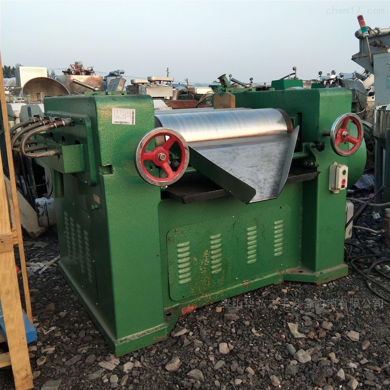 高价回收液压三辊研磨机
