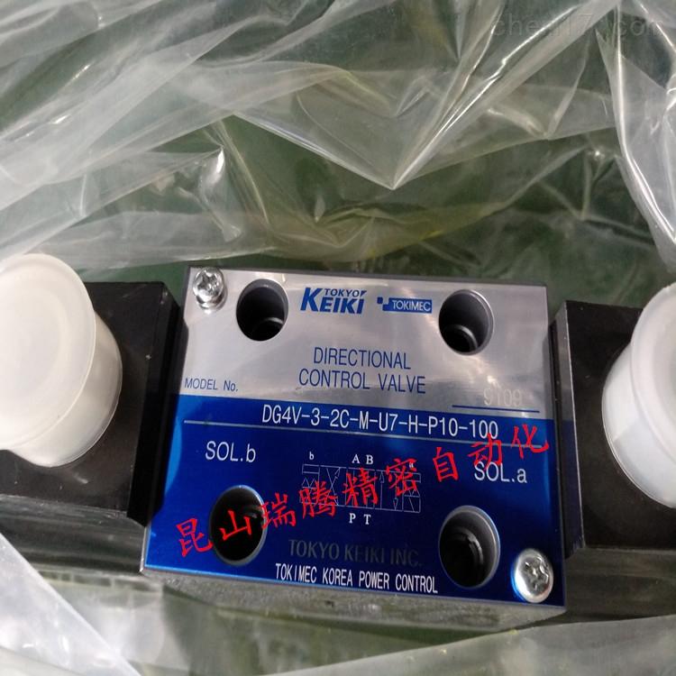 液压TOKIMEC东机美电磁阀