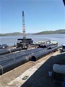 沉管供水管道安装