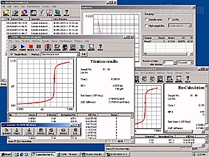 自动电位滴定仪-操作控制软件 AT-Win