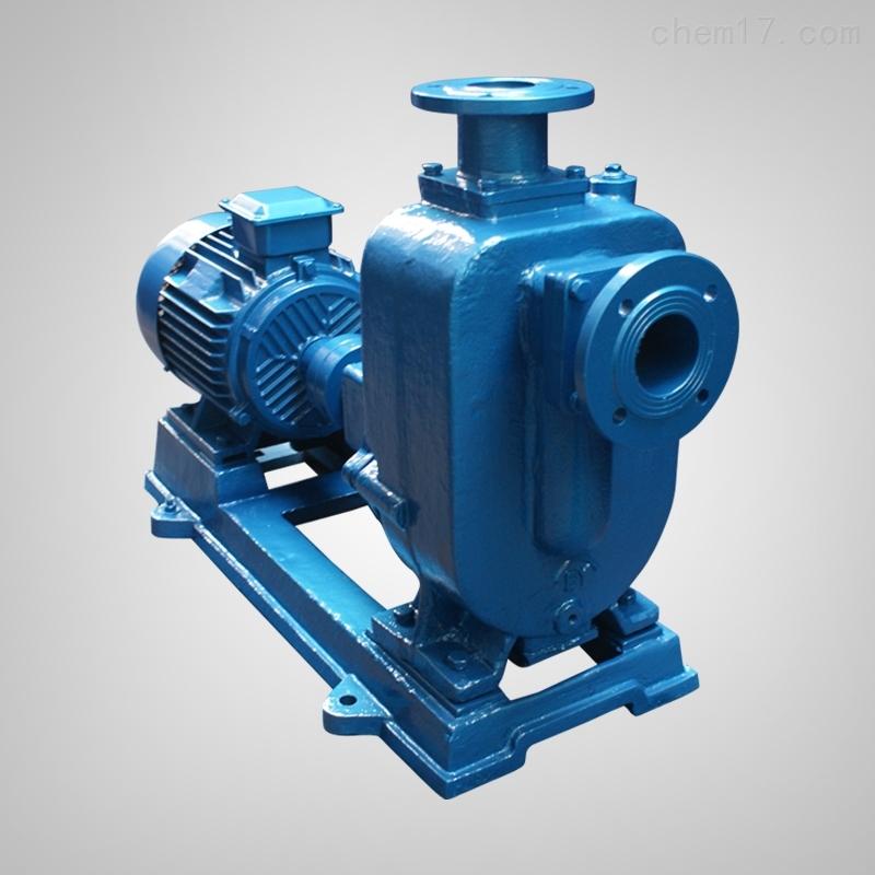 污水泵自吸