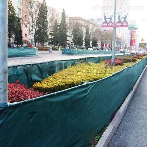 花草树木绿色印花防寒布 园林绿化绿布
