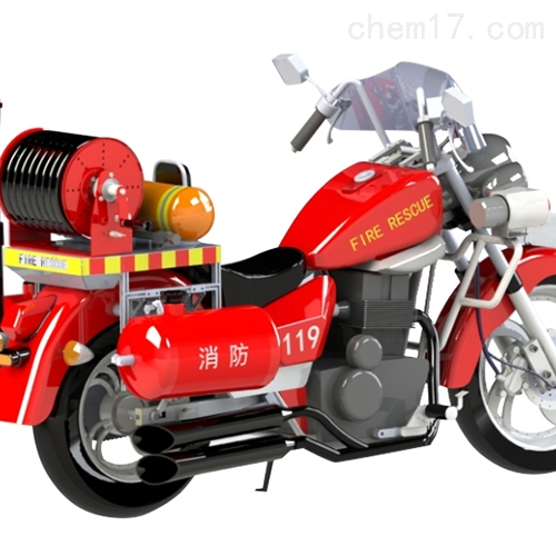 两轮消防摩托车图片大全