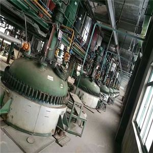 本厂闲置二手双层玻璃反应釜