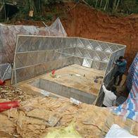 武威地埋式消防水池供水