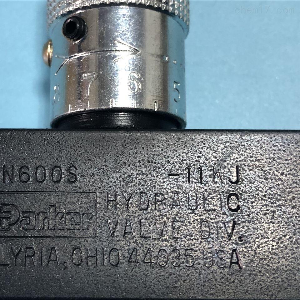Parker派克9F600S控制阀原装现货