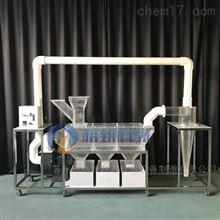 GZS014垃圾风力分选装置 固体废物处理实验装置
