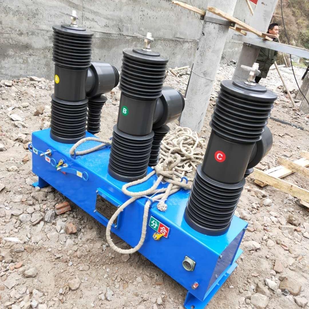 成都户外柱上35KV高压智能断路器