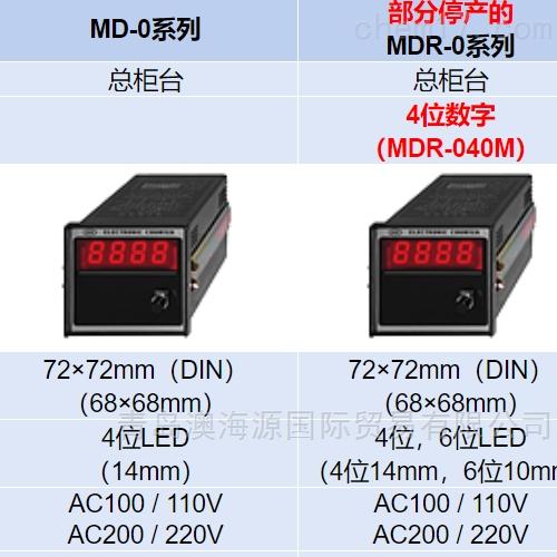 日本莱茵LINE计数器/显示器MD-040M