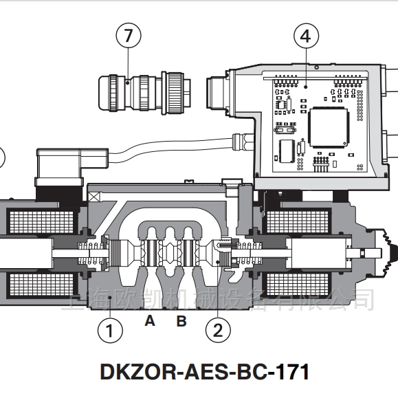 ATOS比例换向阀DHZO系列阿托斯电磁阀现货