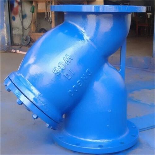 不锈钢GL41H氧气专用Y型过滤器