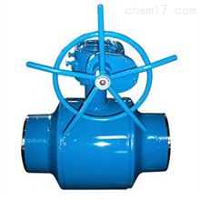 Q361F渦輪全焊接球閥
