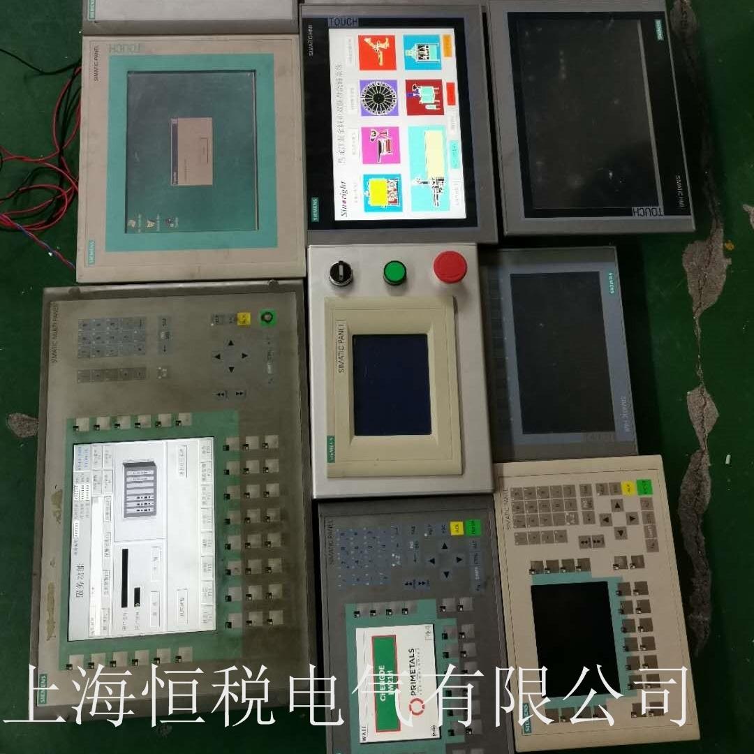 西门子触摸屏开机启动系统死机芯片级维修