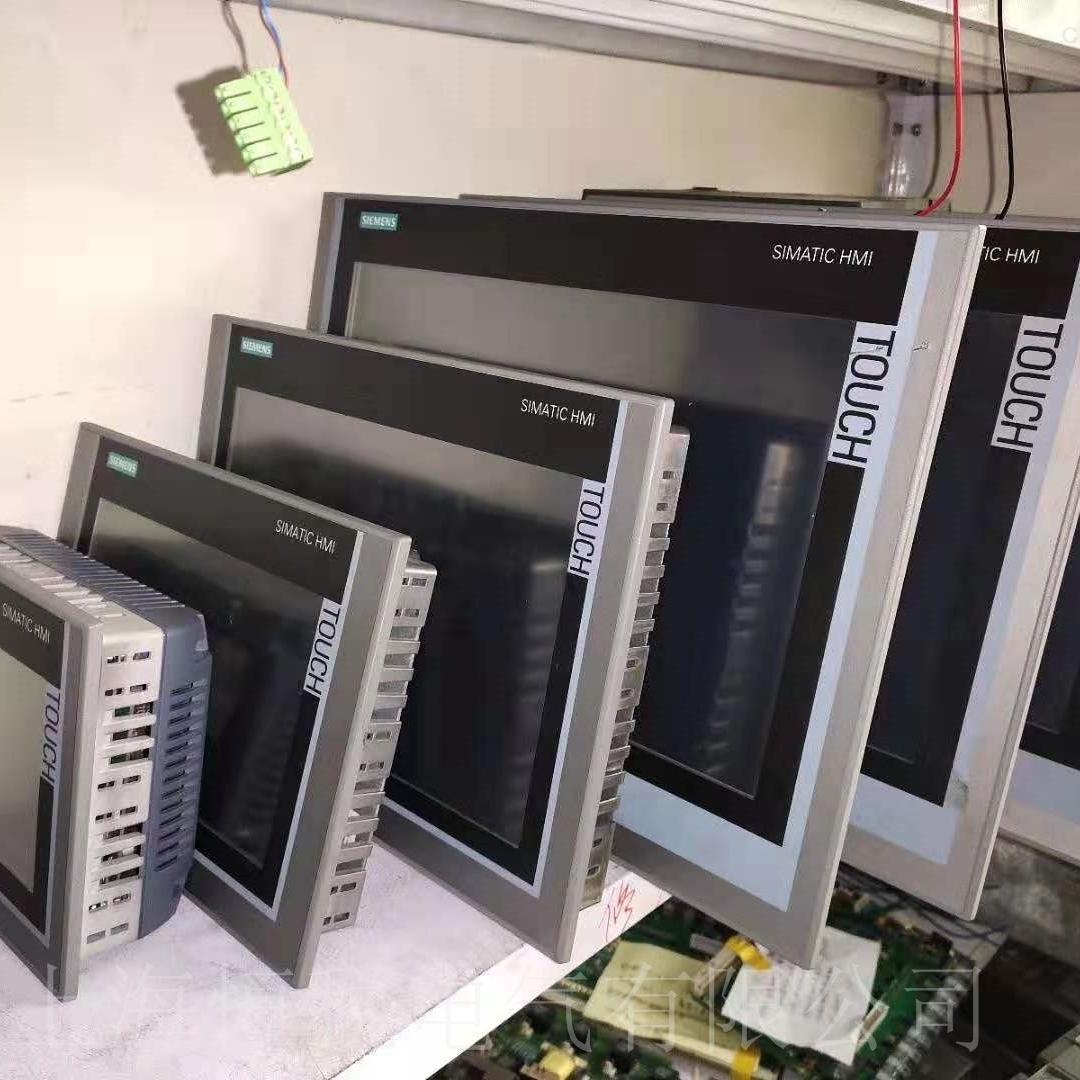 西门子TP1500触摸屏卡在开机画面不动维修