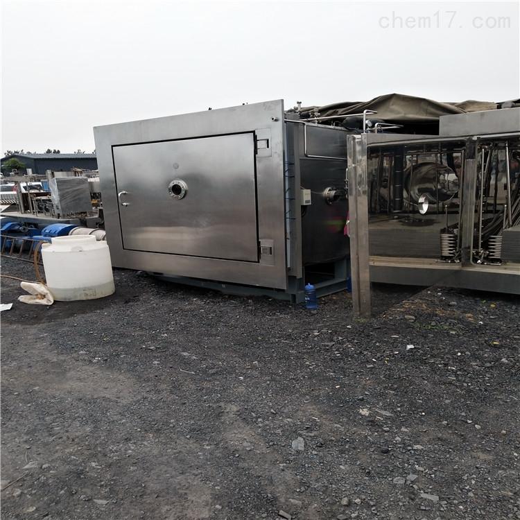 回收安装调试二手食品医药真空冷冻干燥机
