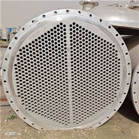 500M500平方列管冷凝器二手出售