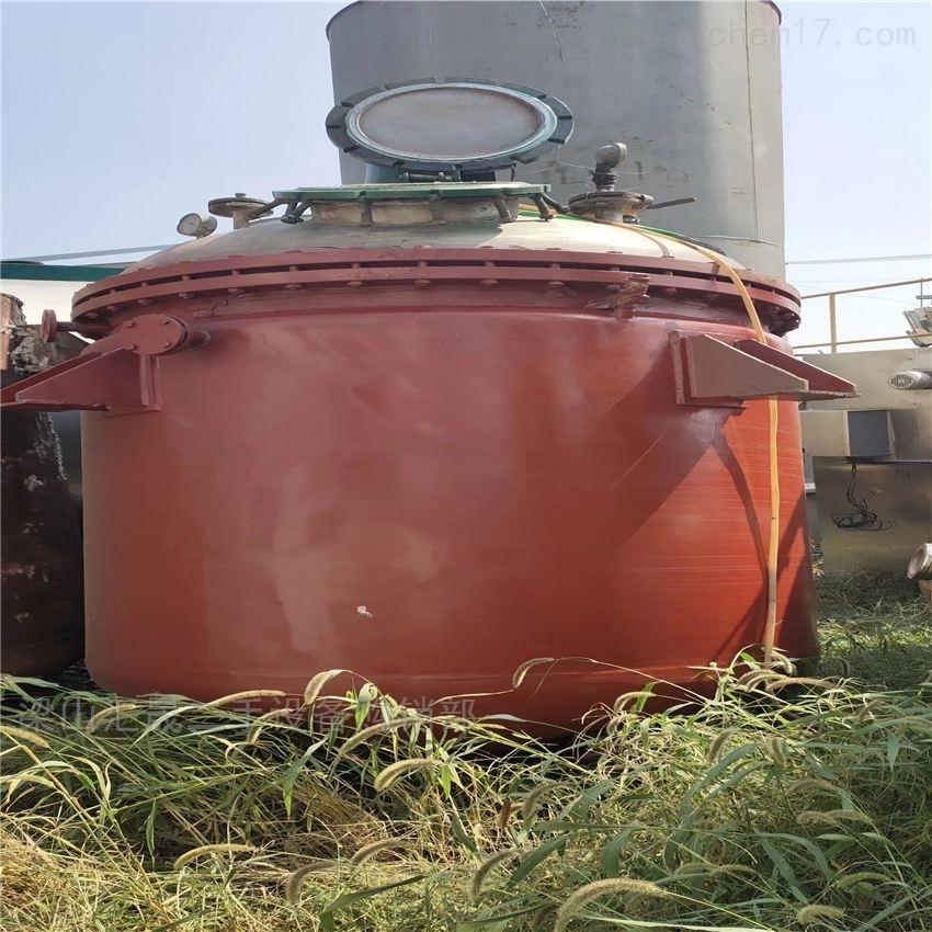二手淄博搪瓷反应釜回收